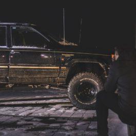 Jeep Grand Cherokee ZJ Komplet tylnych wahaczy typu LONG ARM
