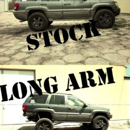 Jeep Grand Cherokee WJ Long Arm