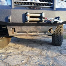 Osłony podwozia (Pajero III 3D – aluminiowe)