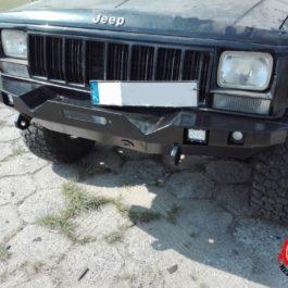 Jeep Cherokee XJ zderzak przedni mud rage