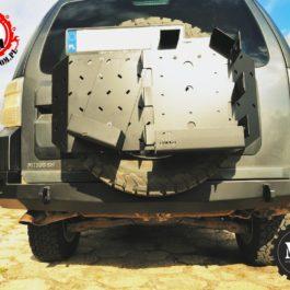Mitsubishi Pajero IV zderzak tylny