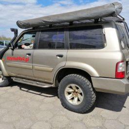 Nissan Patrol Y61 zderzak tylny