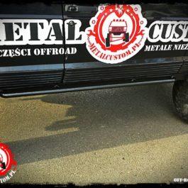 Progi hi-lift Jeep Cherokee XJ
